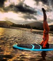 standup paddle, sup yoga