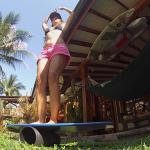 vibeboard, prancha de equilibrio, treino para o surf