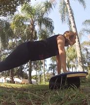 funcional para surfistas, pranchas de equilíbrio, flexões para surfistas, treino para o surf