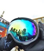 vale nevado, chile, snowboard no chile