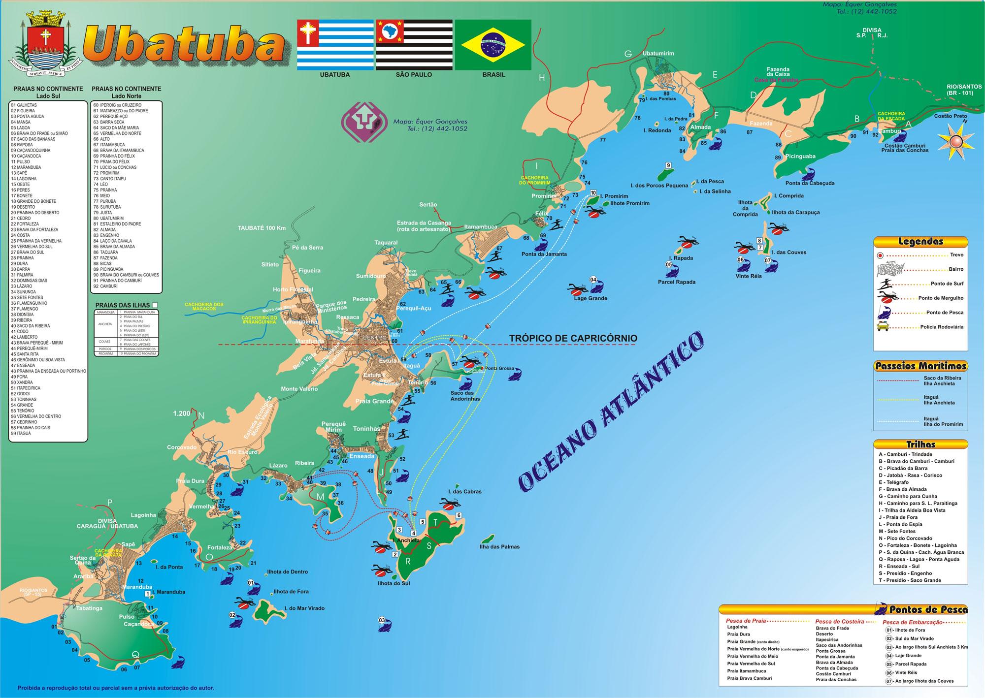 o que fazer em ubatuba, surf em ubatuba, praias de ubatuba, hoteis em ubatuba, mapa de ubatuba
